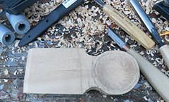 Вырезаем ложку в кельтском стиле (фото)