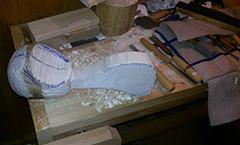 Вырезаем ковш из дерева (фото)